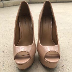 Cream heels!